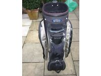 Golf Bag. Some restitching needed to the zip on one of the pockets. Only £5 so no offers please