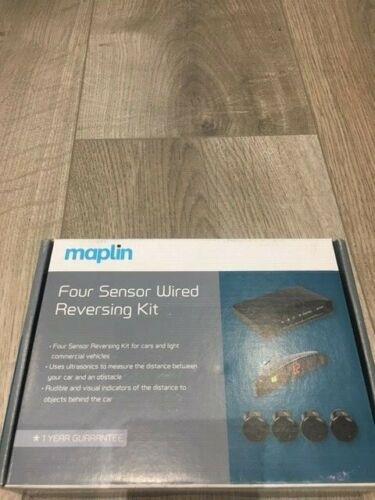 Maplin+four+sensor+wired+reversing+kit