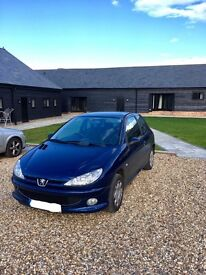 Peugeot 206, 57 plate, 66k miles, very good condition
