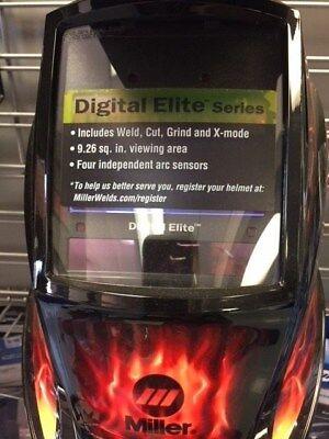 Miller Digital Elite Inferno Auto-darkening Welding Helmet 257217