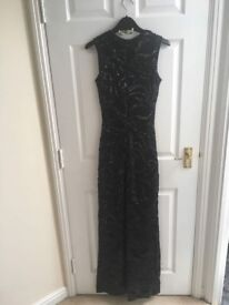 Quiz occasion/prom dress size 8 black for sale