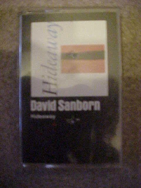 "1980 VTG ""Hideaway"" David Sanborn (Cassette, Warner Bros.) Jazz Saxophone (VG+"