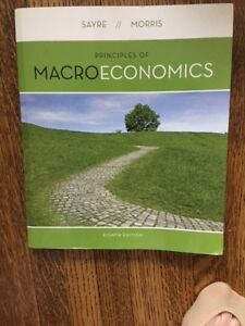 Principles Of Macroeconomics 8TH Ed by John Sayre Alan Morris