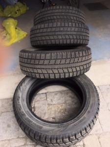 4 pneus d'hiver Toyo Observe GSI-5 235/60/18 d'occasion à vendre