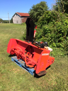 Tractor snowblower 64 inch,two sets of remotes
