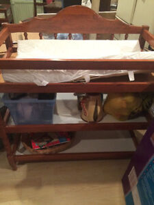 Vintage changing table- NEW PRICE