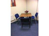 Small Office Table + 2 Chairs