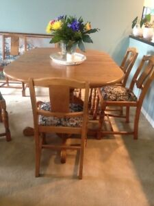 Contemporary Dining Oak Table