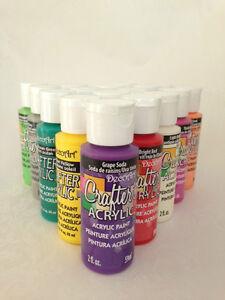 Decoart crafters pintura acr lica todos colores arte - Pintura acrilica manualidades ...
