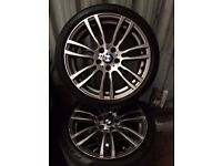 BMW 3 SERIES M SPORT 19'' ALLOYS 255/35/19''