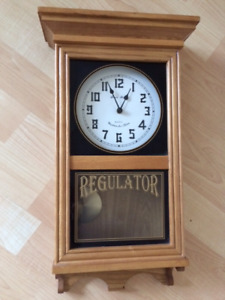 Vintage Quartz Westminster Chime and pendulum Wall Clock