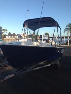 15ft Boat / 25 Yamaha on trailer all registered inc. all gear Helensvale Gold Coast North Preview