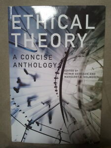 SELLING Ethical Theory: A Concise Anthology 2nd