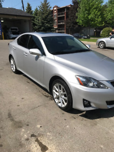 REDUCED PRICE !!! FOR SALE - 2012 Lexus IS250 AWD