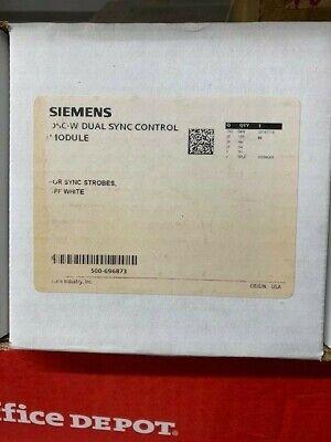 Siemens Dsc-w 500-696873 Dual Sync Control Module Fire Alarm