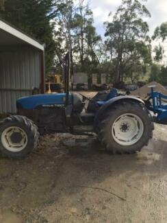 New Holland TN90F 4WD Tractor Uraidla Adelaide Hills Preview