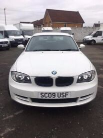WHITE BMW 1 SERIES COUPE CLEAN TIDY LOW MILES