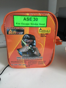 Fire safety smoke hood (great for pilots)