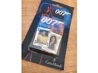 Rare James Bond Playing Cards from Carta Mundi sealed never opened