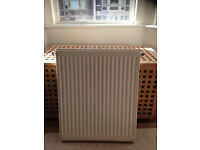 Small C/H Radiator 500mm W x 600 H Great Condition. 2 years old used in bathroom