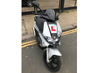 2015 Gilera Runner ST 125 White Soul edition in grey great condition + PM Tuning Exhaust
