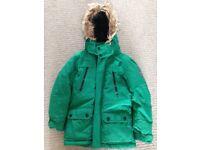 Next warm winter jacket age 9