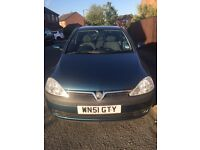2001 Vauxhall Corsa, 2 female owners, low mileage