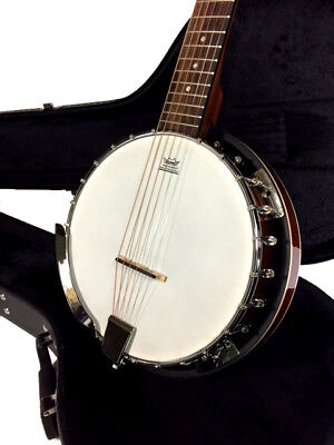 BANKRUPTCY SALE ON NEW Six String BANJO COMES WITH HIGH QUALITY HARD CASE
