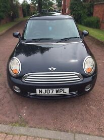 2007 BMW Mini Cooper 1.6 Petrol Top Spec Full MOT Immaculate Bargain £2495ono