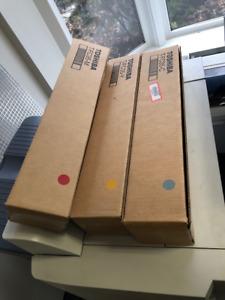 Toner Cartridge - Toshiba T-FC35 Cyan, Yellow and Magenta