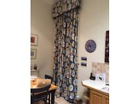 Curtains. Luxurious quality. In our kitchen but would suit other rooms. £50