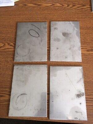 10 Gauge Stainless Steel Sheet Metal Scrap Tigmig 304316 Hho 4 Pcs