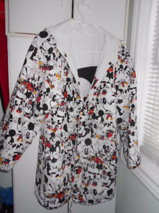 Reversible Mickey Mouse Coat