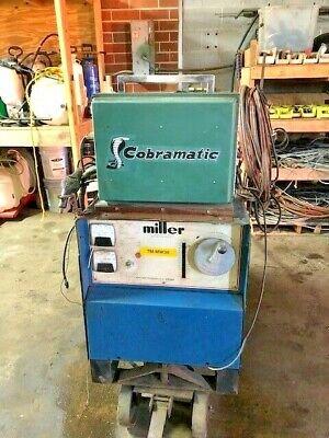 Miller Welder Cp-250ts Three Phase W Cobramatic Wire Feeder Euc
