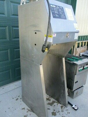 Ventless Hood With Fire Suppression Giles  No Fryer 3000 Nice