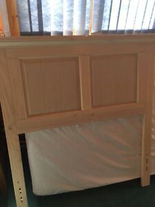 Great for going off to school.  Headboard and Mattress