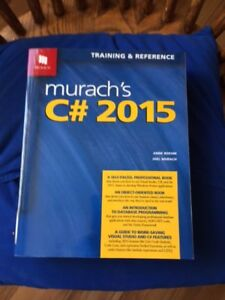 Murach's C# 2015 Training & Reference Book