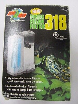 Zoo Med Turtle Clean 318 Submersible Filter  TC20 (new, open box)
