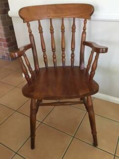 Carver Dining Chairs - Wooden PIne