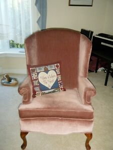 Lovely Set of Wing Back Chairs