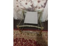 Square Glass Coffee Table - Moving Abroad - Low Price - clearance