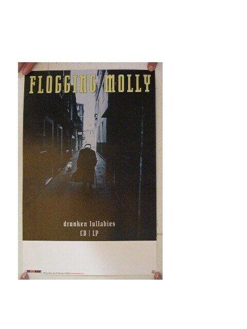 Flogging Molly Poster Drunken Lullabies