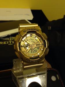 Casio G Shock Gold Edition 50mm Case Watch