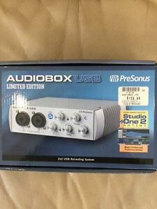 PreSonus AudioBox USB 2x2 Audio Recording Interface Limited Edit