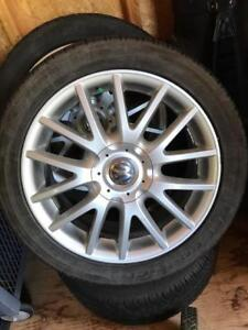 "Roues mags Volkswagen original GTI 2009 17"" - Jetta, Golf/Rabbit"