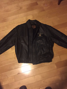 Dodge leather coat ( new)