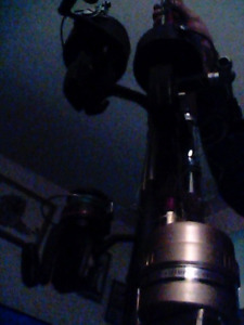 4 fishing rods with reels great shape one reels
