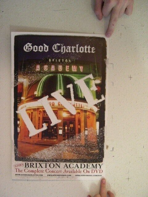 Good Charlotte Poster Live Promo