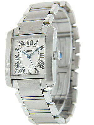 Cartier Tank Francaise  Automatic Men's Stainless Steel