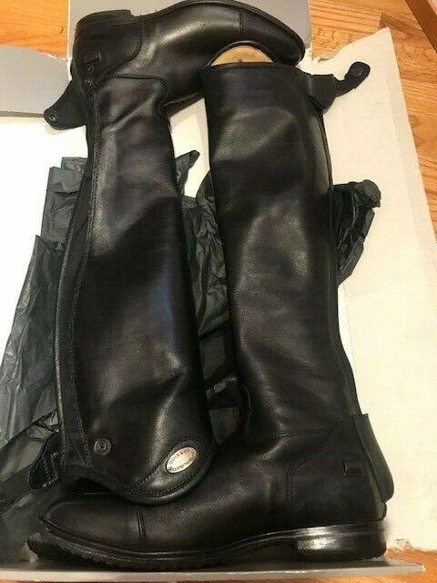 Gorgeous Parlanti Aspen Tall Dress Boots Size 39SH+, US 8.5, custom sole!